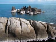 Stone formations Hin Ta and Hin Ya